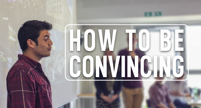 Workshop: Pitching - How to be convincing! - Aalborg